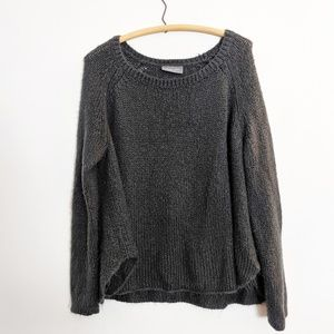 Anthropologie Wooden Ships Slouchy Mohair Sweater